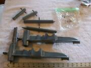 Assortment Of Cast Iron And Steel Parts From Lathe Box Of Miscellaneous Parts