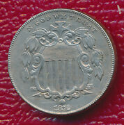 1872 Shield Nickel Fantastic Collection Addition Free Shipping