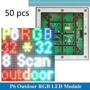 50pcs P6 Led Module Display Panel 3535smd Outdoor Hd 3232 Pixels Rgb Full Color