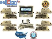 Tank Mount System 30000 Lbs Capacity With Indicator Stainless Steel Sl-30k-tm