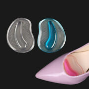 1/5 Pairs Gel Silicone Forefoot Pad Insole Insert Massager Anti-slip Pain Relief