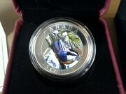 2007 Canada 25 Cent Coin Red Breasted Nuthatch
