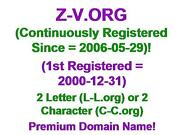 Z-v.org Domain Name Lll L-l.org Ccc C-c.org 2 3 Letter Character Aged 2006-05-29
