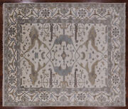 8' 3 X 9' 9 Hand Knotted Turkish Oushak Area Rug - Q1465