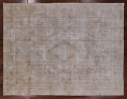 9and039 3 X 12and039 4 Vintage White Wash Handmade Rug - Q2039