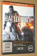 Battlefield 4 Preorder Box Xbox 360 Pc Ps3 New And Sealed No Game Included
