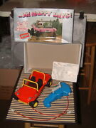 Vintage Schuco Hand Cranked Clockwork Dune Buggy Goes Forwards And Reverse W/box