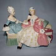 Royal Doulton Figurine The Love Letter Hn2149 Classical Old Made In Uk
