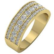 Genuine Diamond Engagement Ring Vs1 F 1.20ct Prong Set 14kt Solid Gold 7.20 Mm