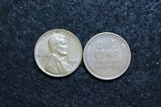 1956 D Circulated Lincoln Wheat Cent Good Or Better Condition