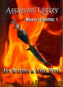 Ian Watson, Andy West / Assassins' Legacy Waters Of Destiny Book 1 Signed 1st Ed