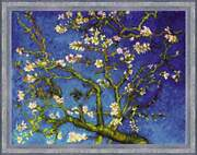 Cross Stitch Kit Almond Blossom After V. Van Goghand039s Painting 1698