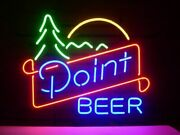 New Point Beer Cub Decor Real Glass Neon Light Sign 20x16
