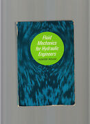Fluid Mechanics For Hydrolic Engineers-rouse-dover 1st 1961 Science Classic Vg +