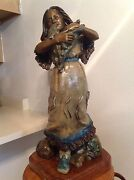 Wow Bronze Statuethey Donand039t Make Good Pets Wolf Puppies. Price Cut 1000and039s