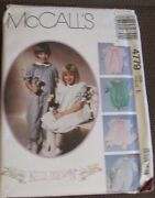 Mccalland039s Sewing And Smocking Pattern Girland039s Dress Jumpsuit Romper 4779 Uncut Sz 5