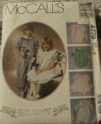Mccalland039s Sewing And Smocking Pattern Girland039s Dress Jumpsuit Romper 4779 Uncut Sz 6