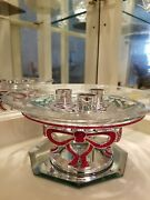 - Christmas Holiday Candle Holder -1299926. Limited Piece - Rare