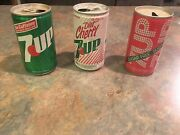 7 Up Collectible Cans
