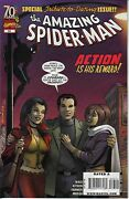 Amazing Spider-man 583 / Cougar Cover / Obama Appearance / Marvel Comics