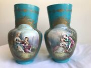 Pair Of 19th Century French Porcelain Vases