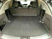 Trunk Cargo Cover Floor Tray Boot Liner Pad Mat Black For Acura Mdx 2014-2020