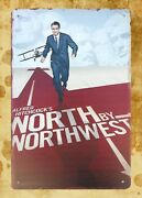 North By Northwest Movie Poster Tin Metal Sign Tin Signs