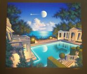 Freccia D'oro On Black Paper 1996 By Jim Buckels Special Pricing