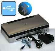 Small Mobile Printer Hp Officejet 100 Usb Bluetooth For Windows Xp 7 8 0 3/8in
