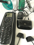 Logitech Harmony 900 Universal Remote Control W Blaster Extender Complete Rf Sys
