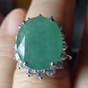 Best Quality 15.55 Ct Natural Grandidierite Ring 925 Sterling Silver.size 7.0