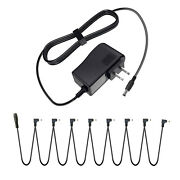 Guitar Effects Pedal Power Supply +8 Way Daisy Chain For Guyatone Death By Audio