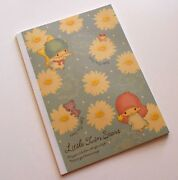 5pc Made In Japan Sanrio Little Twin Stars Ruled Notebook 18x25cm