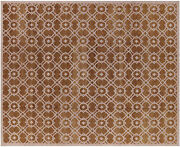 8' 2 X 10' 0 Modern Hand Knotted Wool Area Rug - H1746