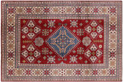 8and039 2 X 12and039 3 Kazak Hand Knotted Wool Rug - H7457
