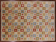 9and039 4 X 12and039 6 Gabbeh Hand Knotted Wool Area Rug - H8366