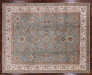 8and039 1 X 9and039 10 Turkish Oushak Hand Knotted Wool Area Rug - H5959