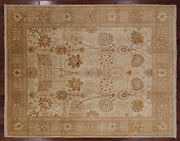 9and039 3 X 11and039 9 Hand-knotted Peshawar Rug - W2526