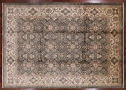 Peshawar Sultanabad Hand Knotted Wool Rug 8and039 9 X 12and039 5 - H9986