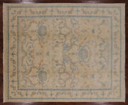 Hand Knotted Peshawar Wool Area Rug 8and039 2 X 9and039 10 - W1968