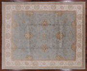 Hand Knotted Turkish Oushak Rug 8and039 2 X 10and039 2 - P3555