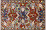 6and039 1 X 9and039 4 Fine Serapi Hand Knotted Rug - P4495