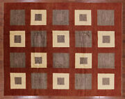 Gabbeh Hand Knotted Rug 8and039 2 X 10and039 5 - P4248