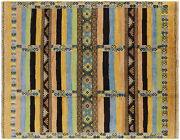 9and039 0 X 11and039 7 Moroccan Hand Knotted Area Rug - P5431