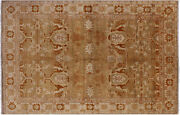 6and039 0 X 9and039 2 Hand Knotted Antique Chobi Peshawar Wool Rug - W1297