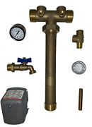 Pressure Tank Tee Union 1-1/4x14 Water Well Lf Brass You Pick The Square D