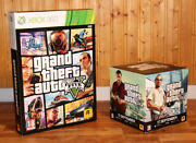 Grand Theft Auto V 5 Game Store Display Box Standee Cube Ps4 Xbox One 360 Ps3
