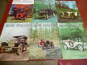 Lot Of 6 Antique Automobile Magazine Aaca Full Year 1966