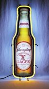 New Yuengling Lager Bottle Beer Bar Party Man Cave Neon Light Sign 32x18