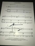 Pete Townshend Signed Autograph Sheet Music Pinball Wizard In Person Coa Auto Ny